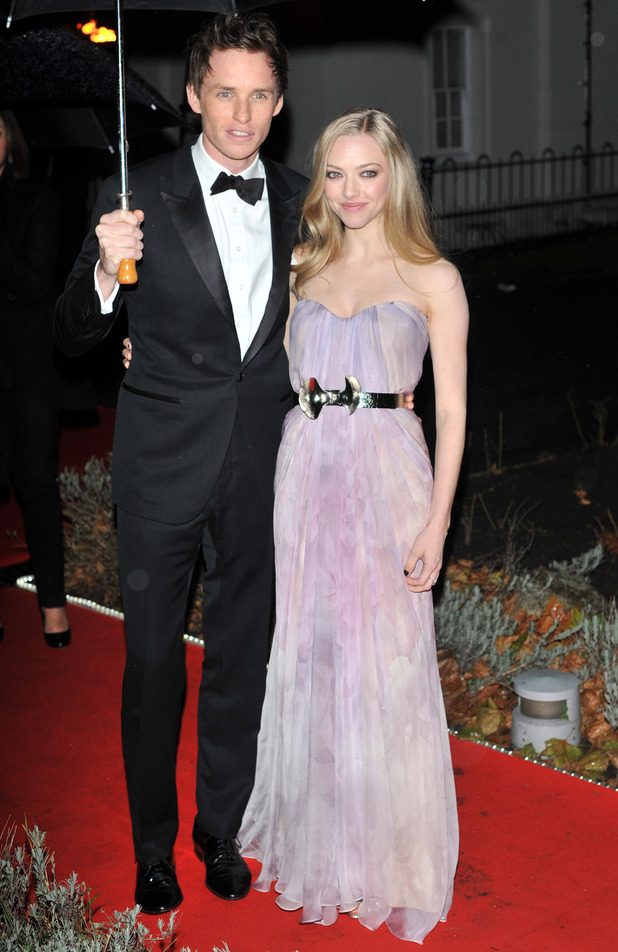 Night of Heroes: The Sun Military Awards held at the Imperial War Museum - Arrivals Featuring: Eddie Redmayne and Amanda Seyfried Where: London, United Kingdom