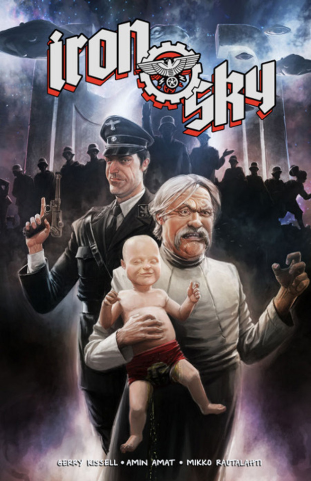 'Iron Sky' graphic novel cover