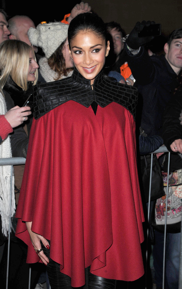X Factor finalists and judges arrive in Manchester ahead of the grand final on Saturday night Featuring: Nicole Scherzinger Where: Manchester, United Kingdom