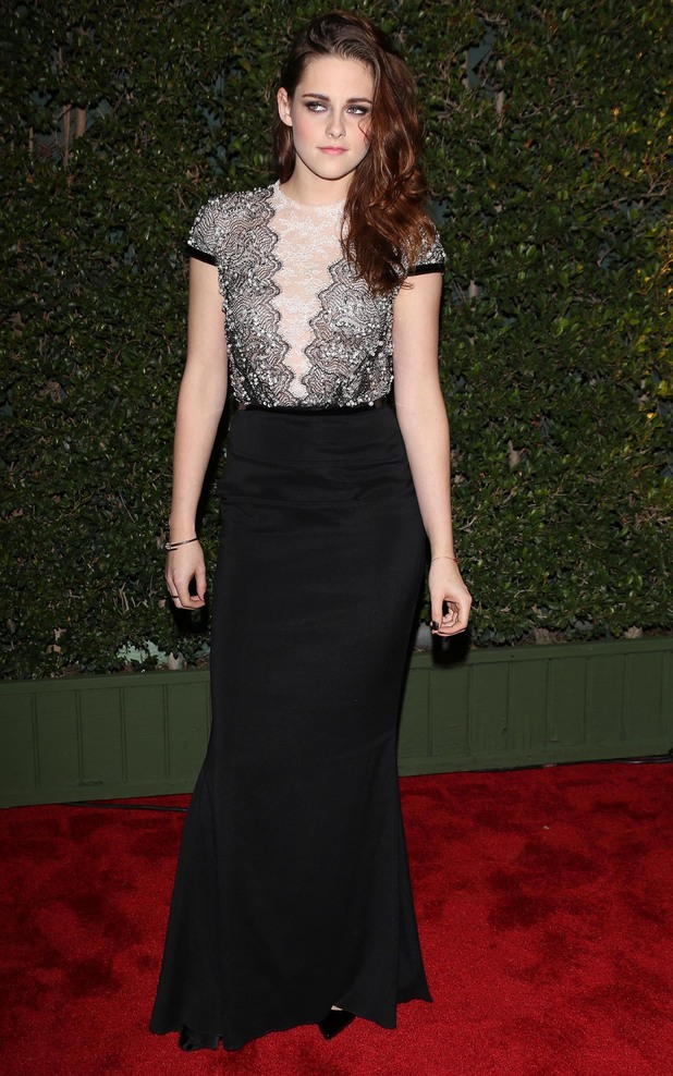 The Academy of Motion Pictures Arts and Sciences' Governors Awards - Arrivals Featuring: Kristen Stewart Where: Los Angeles, California, United States When: 02 Dec 2012 Credit: FayesVision/WENN.com