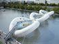 Trampoline bridge proposed in France