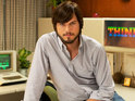Find out what the first reviews make of the Two and a Half Men star in jOBS.
