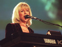 Christine McVie makes the announcement while accepting Ivor Novello award.