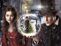 Matt Smith and Jenna-Louise Coleman feature in new stills from 'The Snowmen'.