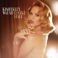 Kimberley Walsh artwork for solo album Centre Stage