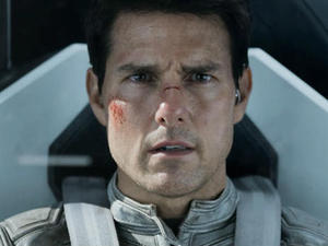 Tom Cruise leads the cast of Joseph Kosinski's post-apocalyptic 'Oblivion'.