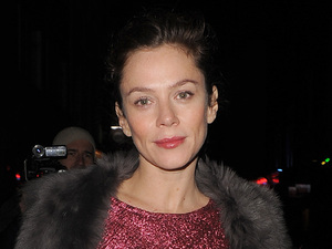Anna Friel leaves the Vaudeville Theatre after performing in the play 'Uncle Vanya' Featuring: Anna Friel Where: London, United Kingdom When: 12 Dec 2012