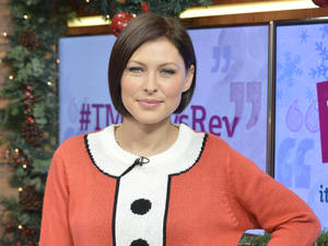Miss Mode: Emma Willis in Christmas jumper