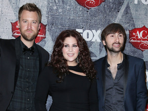 Lady Antebellum arriving at the 2012 American Country Awards at Mandalay Bay Resort and Casino