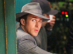 'Gangster Squad' film set, Los Angeles, America - 29 Nov 2011Ryan Gosling