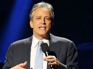 12-12-12 The Concert for Sandy Relief at Madison Square Garden, New York: Jon Stewart