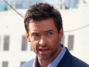 Hugh Jackman is honoured with a Hollywood Star on the Hollywood Walk of Fame