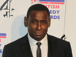 Dave Harewood arriving at the UK Comedy Awards