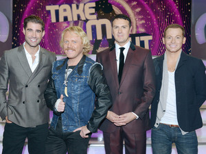 Take Me Out Christmas Special, Joe Swash, Matt Johnston and Keith Lemon