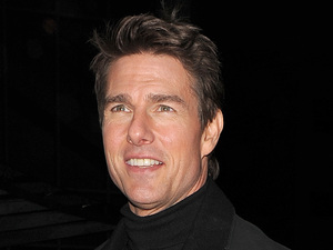 Tom Cruise arrives at Battersea Heliport, to catch a late night helicopter flight, having attended the World Premiere of his latest film, &#39;Jack Reacher&#39; and then filmed a TV apearance