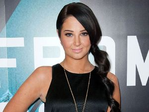 Tulisa Contostavlos, BT Infinity concert at the BT Tower in London.