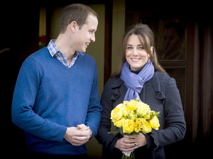 Prince William, The Duke of Cambridge and Kate Middleton, the Duchess of Cambridge, leave the King Edward VII Hospital together. Catherine had stayed in hospital since Monday, suffering from acute morning sickness, following the announcement that she is expecting her first child.Featuring: Prince William, The Duke of Cambridge and Kate Middleton, the Duchess of Cambridge Where: London, England When: 06 Dec 2012 Credit: WENN.com