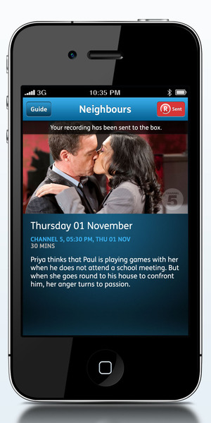 YouView App - Remote Record