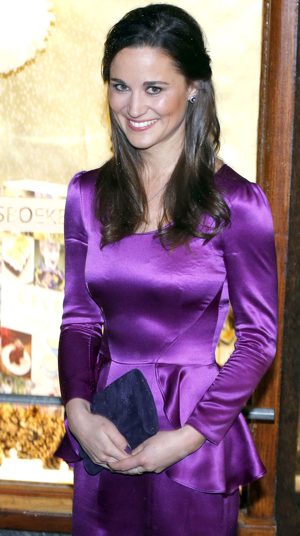 Pippa Middleton at her book launch party for her party planning guide 'Celebrate'