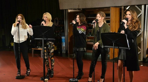 Girls Aloud at Radio 1 Live Lounge