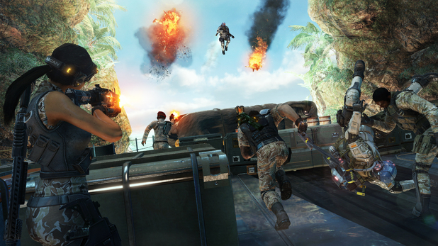 Fuse's multiplayer mode Echelon revealed