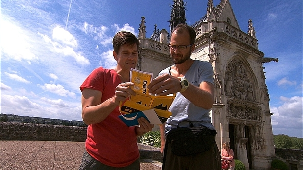The Amazing Race: 'Take Down That Million' finale still