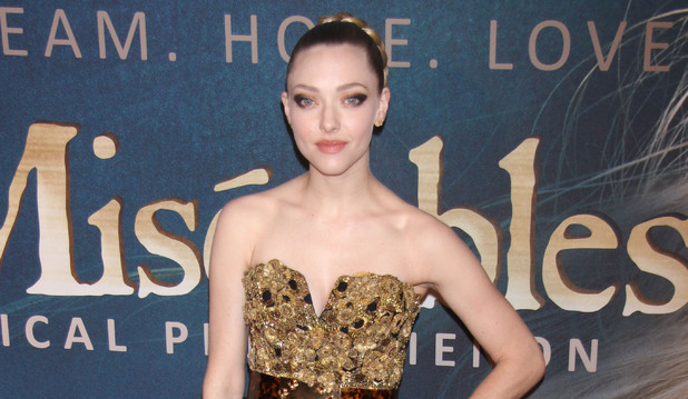 """Les Miserables"" New York Premiere -   Arrivals at the Ziegfeld Theatre Featuring: Amanda Seyfried Where: New York City, United States When: 10 Dec 2012"