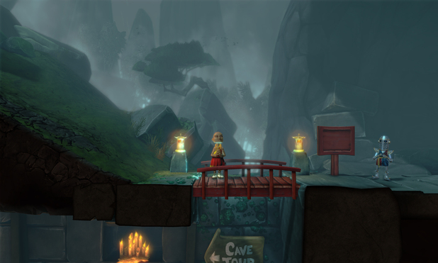 The Cave screenshots