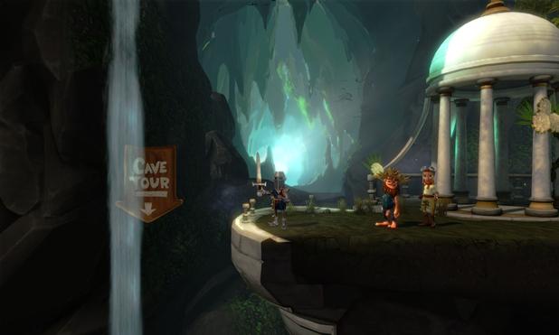 'The Cave' screenshot
