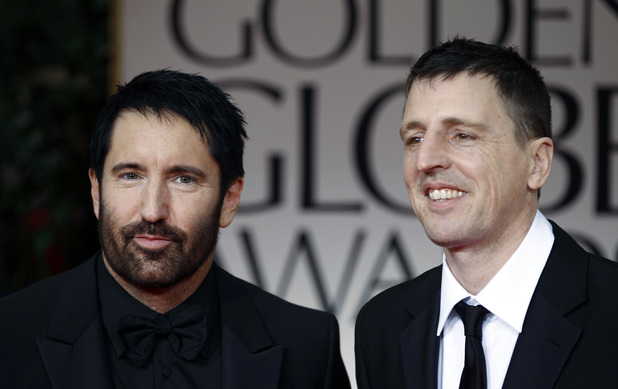 Trent Reznor, left, and Atticus Ross