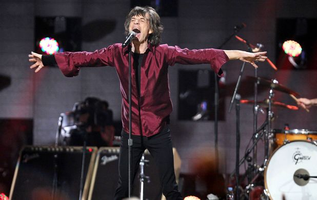 12-12-12 The Concert for Sandy Relief at Madison Square Garden, New York: Mick Jagger of The Rolling Stones