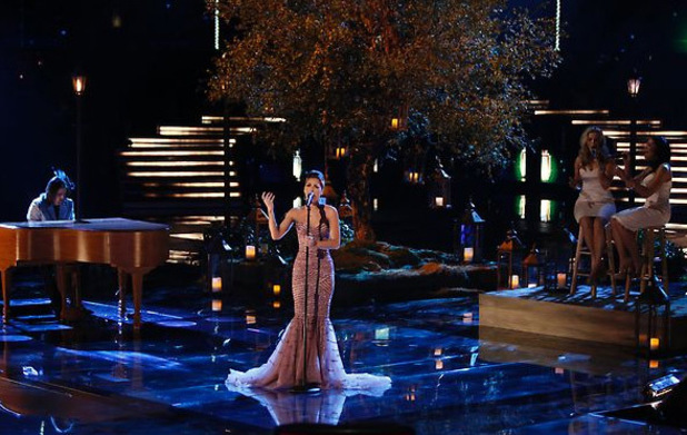 The Voice Season 3 semi-finals live: Cassadee Pope