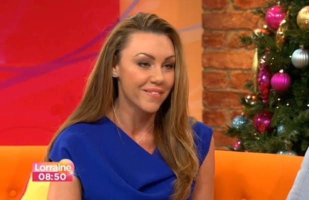 Michelle Heaton talks on Lorraine about her double mastectomy - 10 December 2012