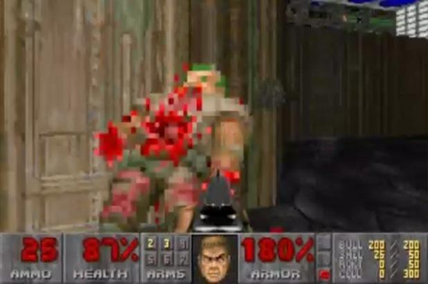 Retro Corner: 'Doom' screenshot
