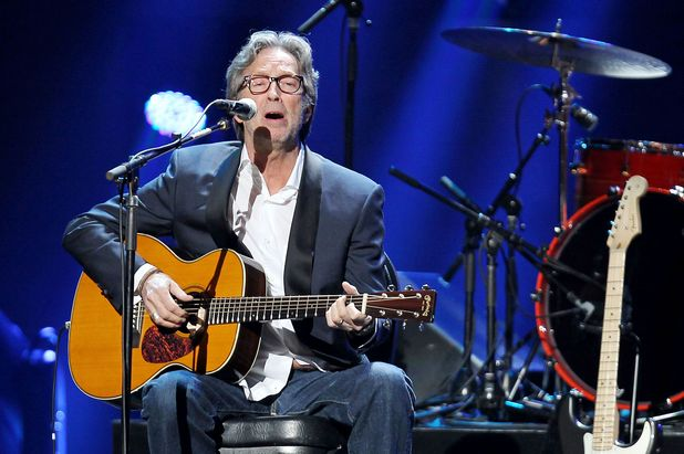 12-12-12 The Concert for Sandy Relief at Madison Square Garden, New York: Eric Clapton