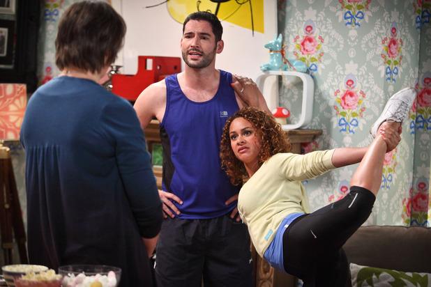 Miranda - Season 3, Episode 2:  Miranda (MIRANDA HART), Gary (TOM ELLIS), Rose (NAOMI BENTLEY)