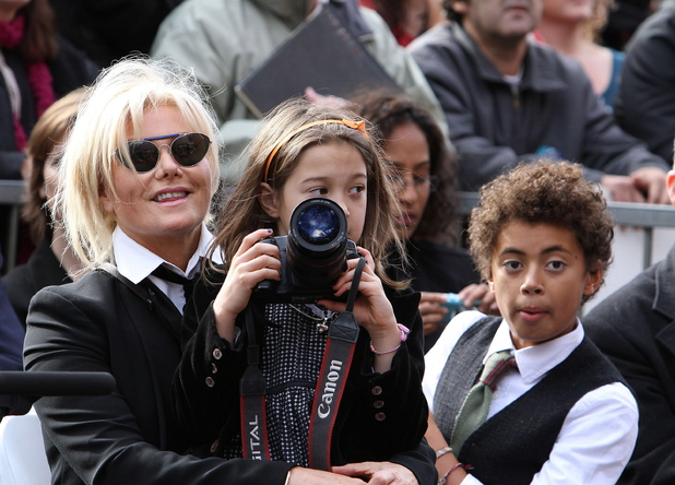 Deborra-Lee Furness, Ava Jackman, Oscar Jackman