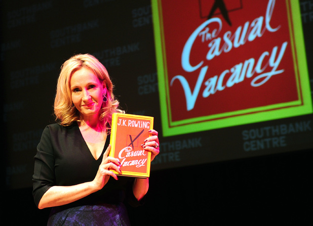 JK Rowling at 'The Casual Vacancy' book launch in London, September 27 2012
