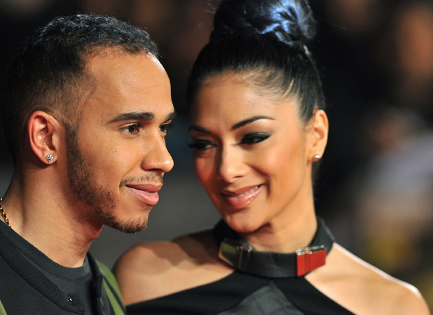 Lewis Hamilton and Nicole Scherzinger 'Jack Reacher' UK film premiere held at the Odeon Leicester Square - Arrivals. London, England - 10.12.12 Credit: (Mandatory): WENN.com