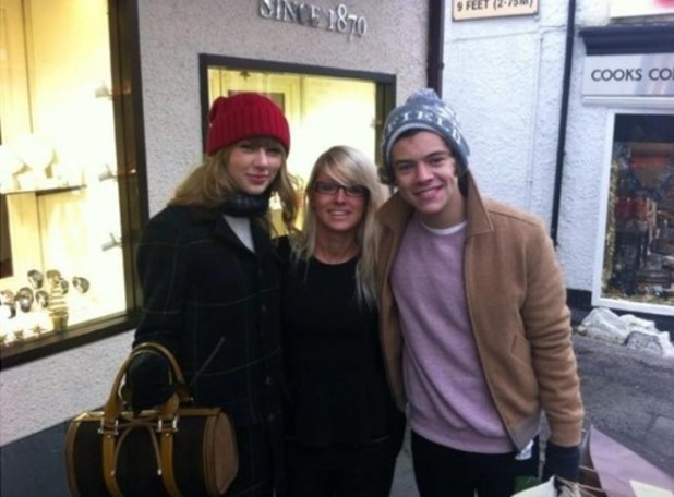 Harry Styles and Taylor Swift in Bowness-on-Windermere.