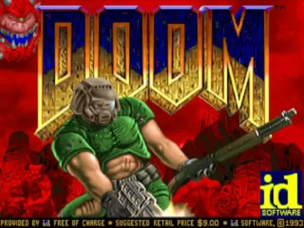 Retro Corner: &#39;Doom&#39; screenshot