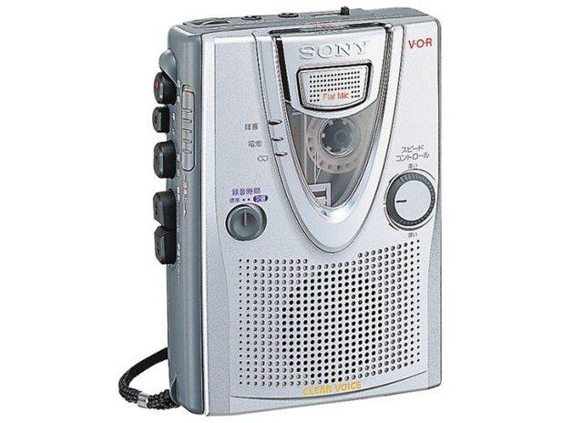 Sony cassette tape recording device
