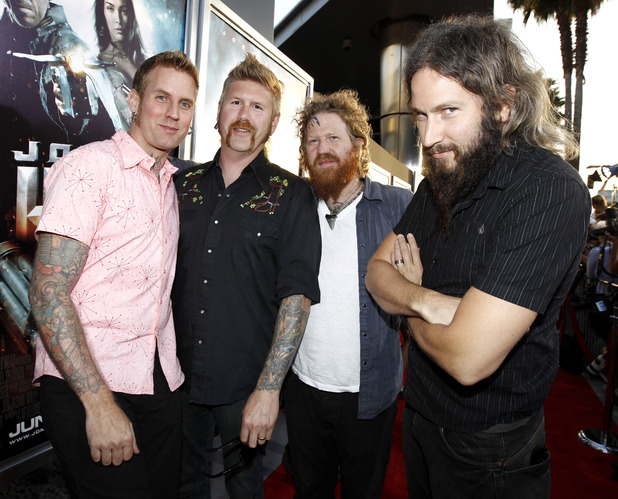 "Mastodon arrives at premiere of ""Jonah Hex"" in Los Angeles on Thursday, June 17, 2010."