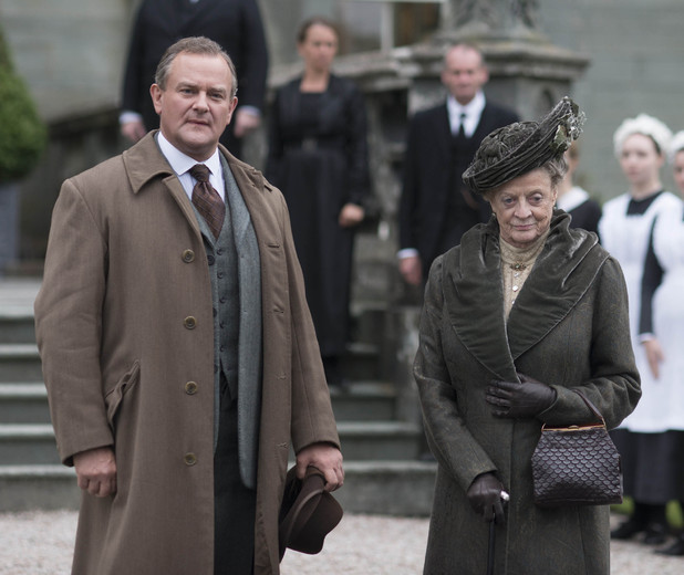 Lord Grantham and Dowager Countess