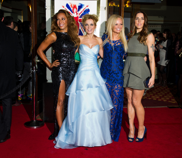 Spice Girls musical opening