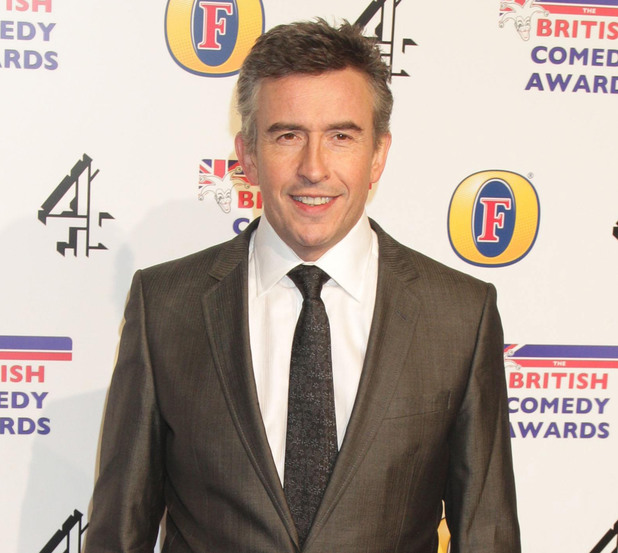 Steve Coogan arriving at the UK Comedy Awards
