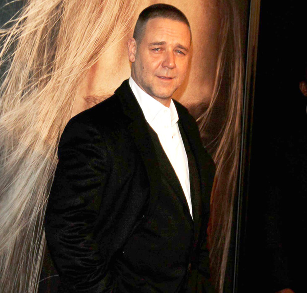 Russell Crowe 'Les Miserables' New York Premiere at the Ziegfeld Theatre -  Arrivals New York City, USA - 10.12.12