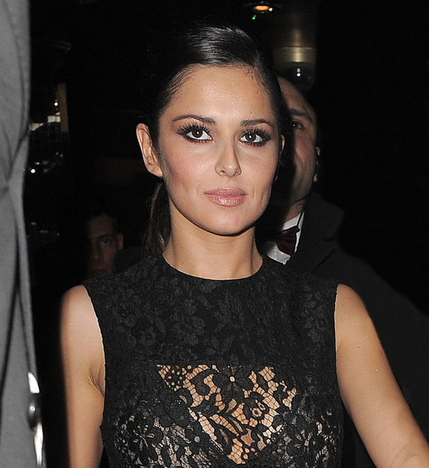 Cheryl Cole leaving The Rose Club, after a brief visit with her mother, brother and boyfriend London, England - 09.12.12 Credit: (Mandatory): Will Alexander/WENN.com