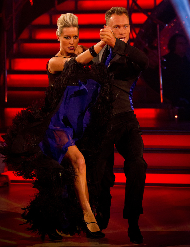 Strictly Come Dancing: Denise and James.