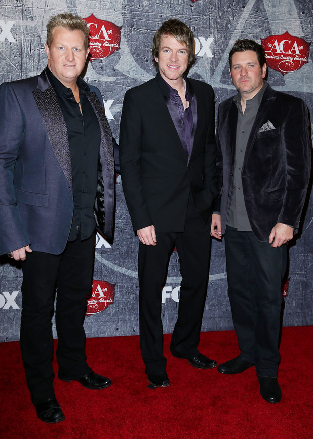 Rascal Flatts arriving at the 2012 American Country Awards at Mandalay Bay Resort and Casino